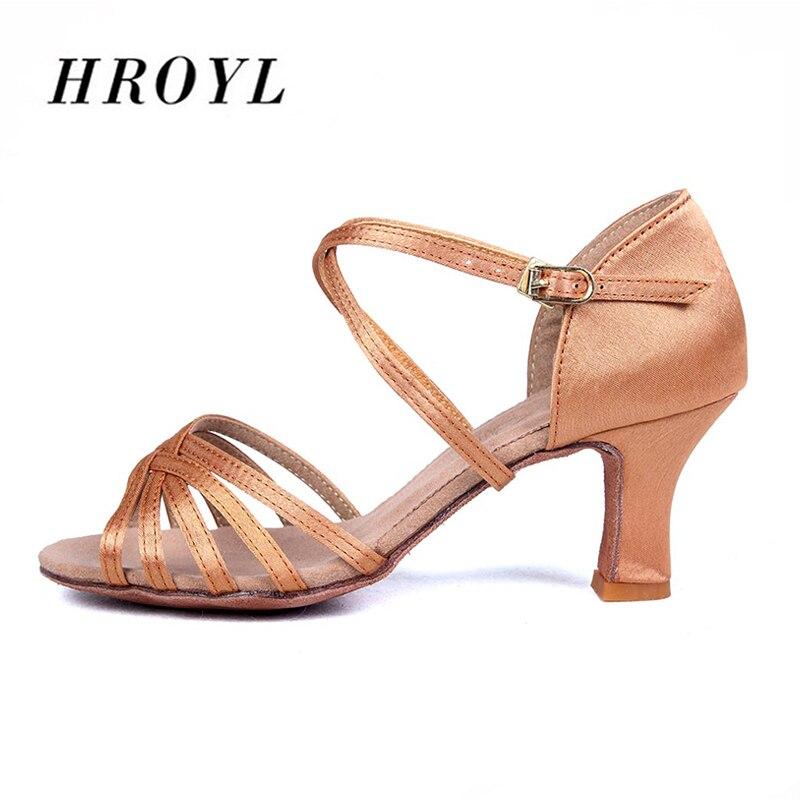 Hot sales women Latin Dance Shoes heeled Ballroom Dancing Shoes for Women Ladies Girls Tango shoes