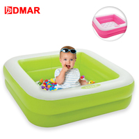 DMAR 85cm/33 Inflatable Pool for Kids Infants Baby Swimming Pool Float Toys Children Bath Water Summer Party Mattress Unicorn