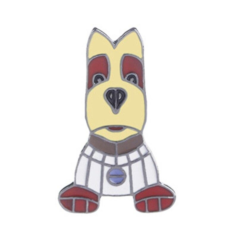 1 Stück Hund Welpen Brosche Emaille Pudel Labrador Corgi Bulldog Tier Pins Taste Tasche Ja ^ ^ Cket T-shirt Kragen Abzeichen Mode Schmuck Reisen