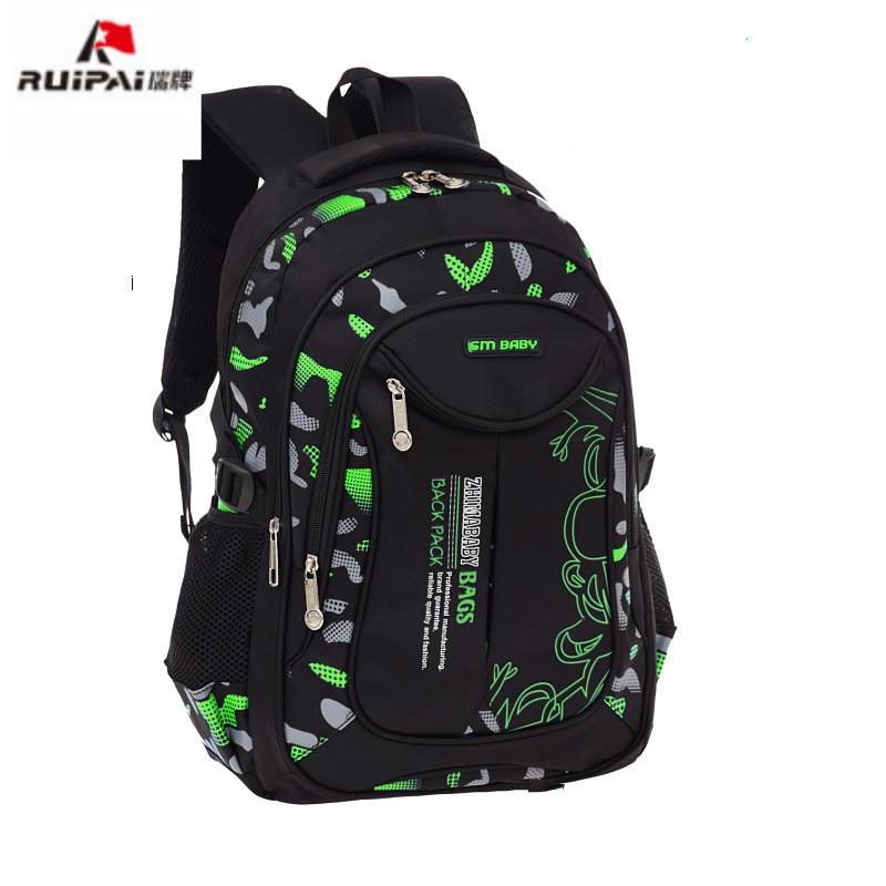цена на children School Bags backpacks Kids Children Schoolbags Teenager Boys&Girls rugzak orthopedic backpacks mochila escolar infantil