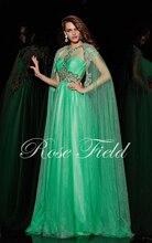 2015 Abendkleid Neue Fashion Elegante Schatzausschnitt Bördelte Und Falten Chiffon bodenlangen Abendkleider Mit Cape Sf1078
