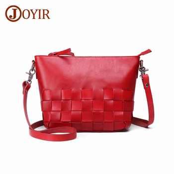 JOYIR Crossbody Bags For Women Bag 2019 Messenger Bags Genuine Leather Fashion Shoulder Bags Hign Quality Handbags Sac A Main - DISCOUNT ITEM  40% OFF All Category