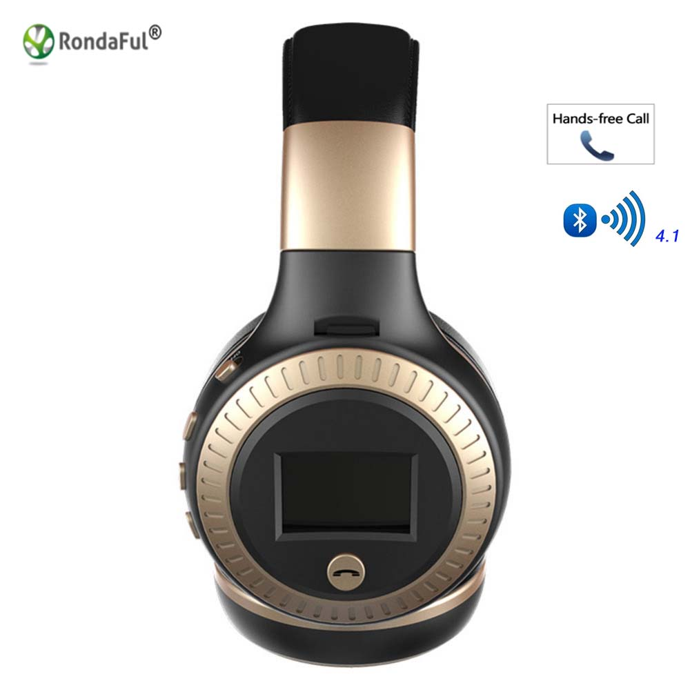 Stereo Wireless Bluetooth Headphone Headset With LED Microphone Headphones for Computer Noise Canceling Headphone Helmet wireless headphones earbuds built in microphone stereo headphone headset handsfree noise canceling handsfree bluetooth 4 1 bt815