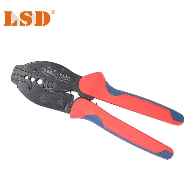 Zangen Werkzeuge Bescheiden Förderung Ly-05h Rg6 Crimpen Werkzeug Für Crimpen 8,1/6,5/5,4/2,6/1,72mm Anschlüsse Bnc/ Sma Crimpen Werkzeug Auswahlmaterialien