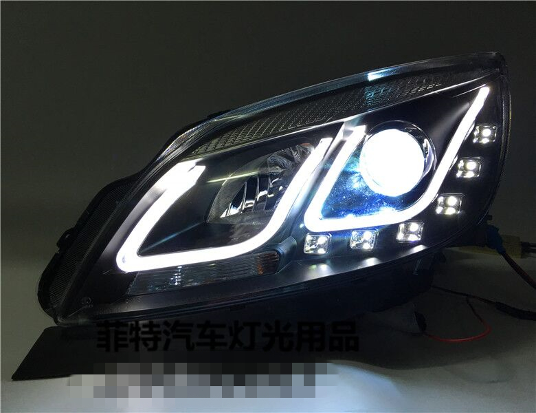 2011 2015 new car headlights modified u xenon car lights optical lens angel eyes hid beam. Black Bedroom Furniture Sets. Home Design Ideas