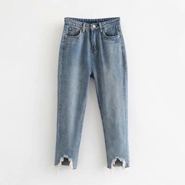 קוצים eppinger s. המקור על ידי עיצוב. 65-7976 אירופאי ואמריקאי אופנה קרסול ג 'ינס