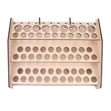 Деревянная стойка для красок модульная подставка модель хобби части инструменты стеллаж для хранения#124