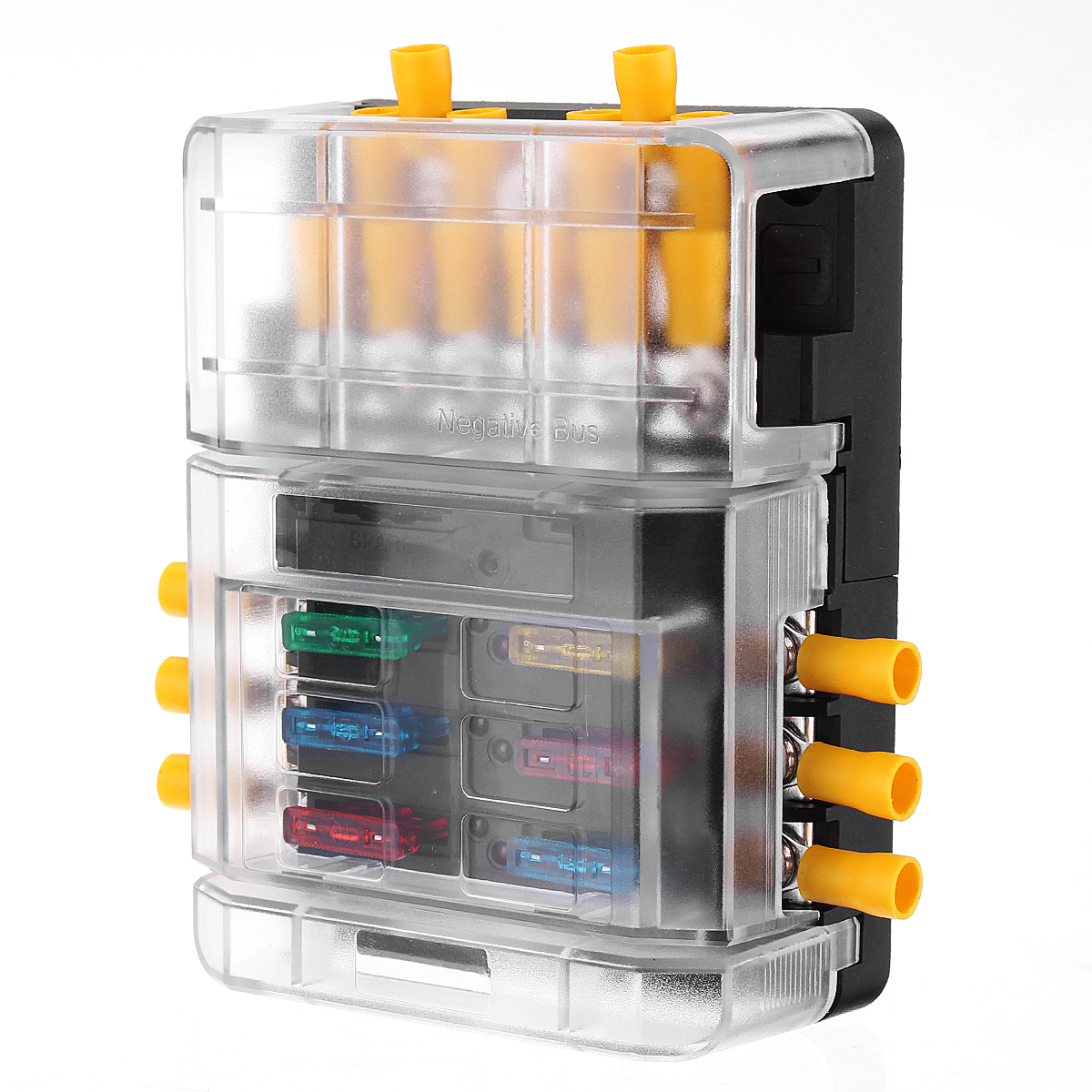 bus fuse box bus bar fuse block 6 way circuit blade fuse box block holder bus bar fuse box fuse block 6 way circuit blade fuse box