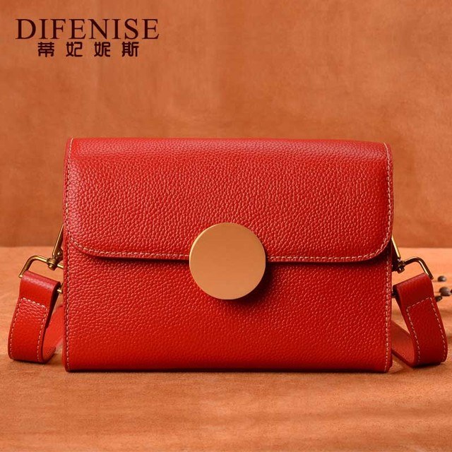 Fashion Woman Genuine Leather Crossbody Bags For Women Messenger Bags Female Shoulder Handbag Crossbody Bags For Women Gift