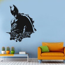 Free Shipping Removable Batman Hero Wall Decal Modern Home Sticker Vinyl GW-39