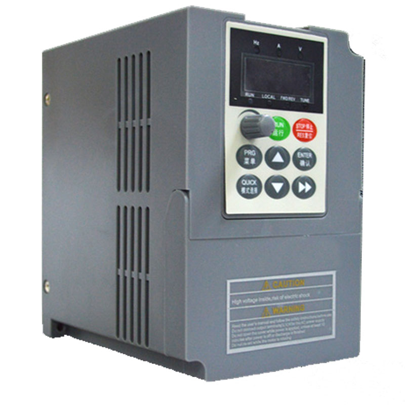 1.5Kw 2HP VFD Control Speed Input 1Ph 220V Output 400Hz 10A Frequency converter Overloaded Vector VFD Matching Lathe Motor NEW