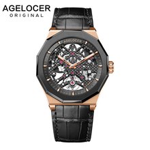 Swiss Watch Brand Man Watches with Mechanical Self-wind Sport Waterproof Clock Military Luxury Mens Automatic