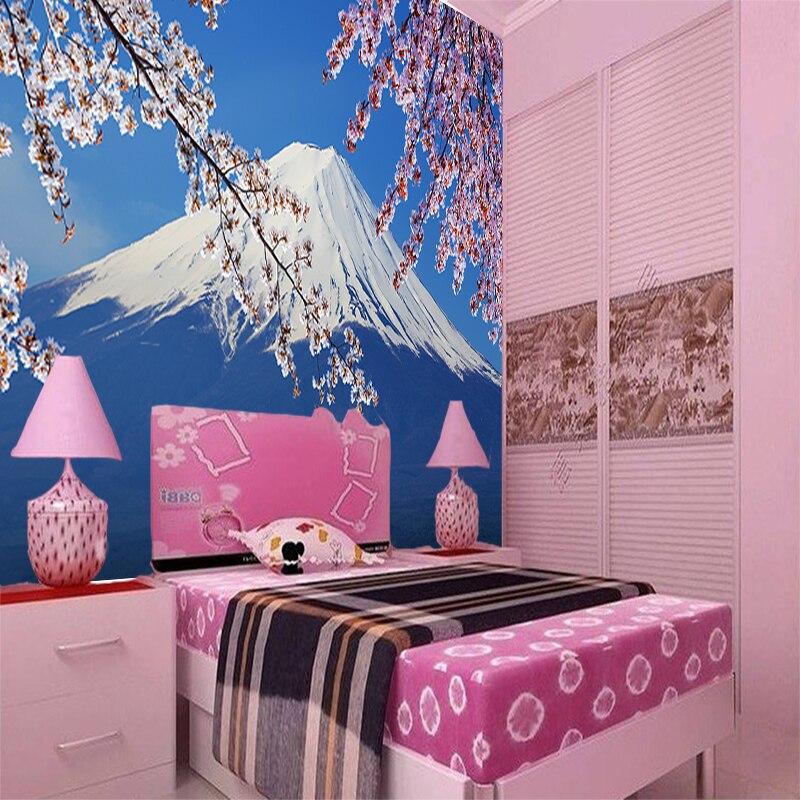 Custom 3d mural Modern minimalist large mural wallpaper bedroom ...