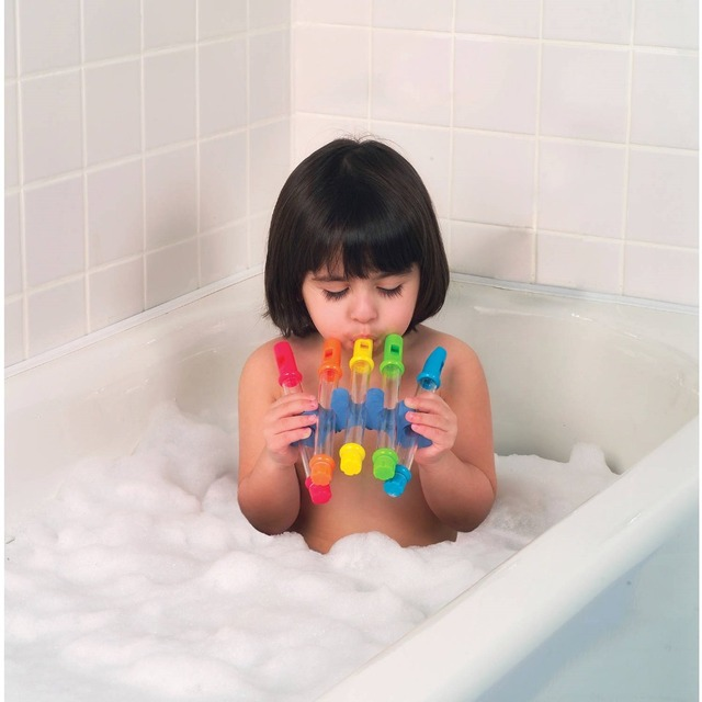 5pcs Water Flute Toy Kids Children Colorful Water Flutes