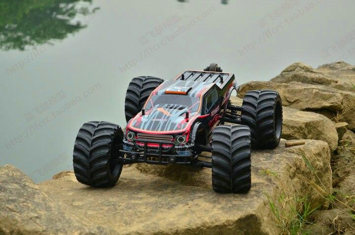 JLB racing or guépard sans brosse 1:10 passe-temps RC voiture électrique 4WD monstre camion Powefull moteur