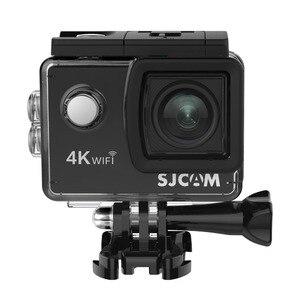 """Image 5 - Sjcam mini capacete sj4000 air, câmera de ação de 4k e 30fps, chipset allwinner 1080p 60fps, wifi, esportivo, dv, 2.0 """"dv câmera esportiva à prova d água"""