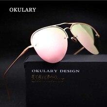 OKULARY Ojo de La Manera gafas de Sol Mujeres Primera Marca Gafas Retro Mujer Gafas de Sol gafas de sol feminino UV400