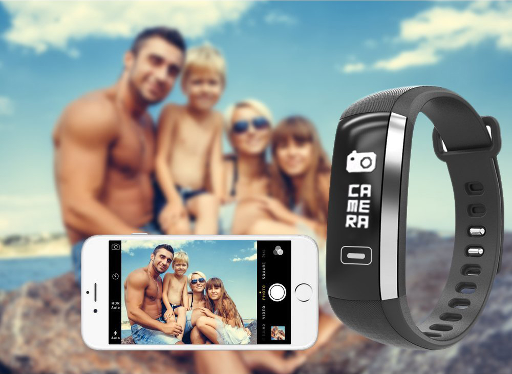 TEZER R5MAX smart Fitness Bracelet Watch intelligent blood pressure heart rate Blood oxygen 50 LETTERS SMS APP Message push 10