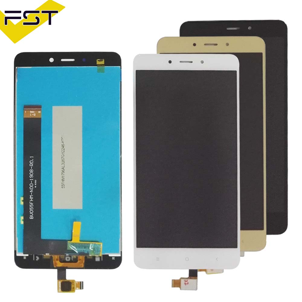 For <font><b>Xiaomi</b></font> <font><b>Redmi</b></font> <font><b>Note</b></font> <font><b>4</b></font> LCD Display With Touch Screen Digitizer Assembly Replacement For 5.5