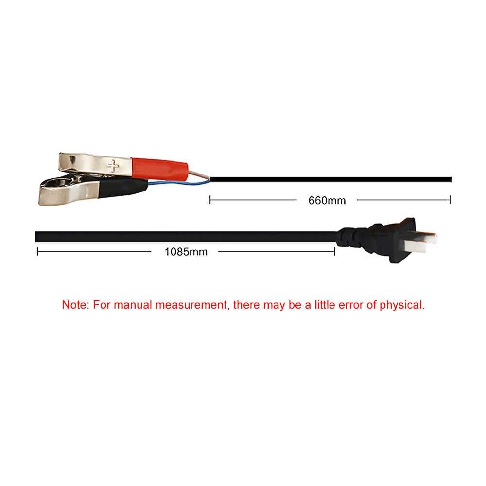 Hoàn Toàn Tự Động Thông Minh 12V 10A Axit Chì/Gel Pin Sạc W/Màn Hình LCD Hiển Thị Hoa Kỳ Cắm Thông Minh Nhanh pin Sạc Tự Động Phụ Kiện