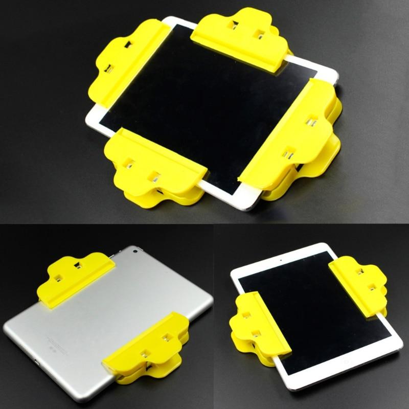 OOTDTY 1PC Mobile Phone Repair Tools Plastic Clip Fixture Fastening Clamp For Iphone Samsung IPad Tablet LCD Screen Repair Tools
