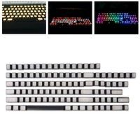 OPEN SMART RGB Front Side Printed Backlit Keycaps 104 ISO ANSI Layout Backlit OEM Keycaps For Corsair k65 Razer 87/104 Logiech