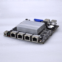 Free shipping New design 4 ethernet lan ports motherboard with great price J1900 Q1900G4 M