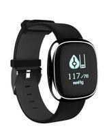 Inteligentny Zespół P2 Blood Pressure Monitor Pracy Serca Inteligentny Bransoletka Krokomierz Uśpienia Fitness Tracker dla Android IOS Smartphone