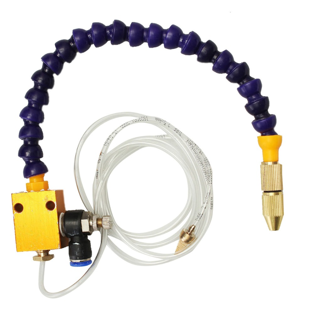 Excellent Quality Mist Coolant Lubrication Spray System For 8mm Air Pipe CNC Lathe Milling Drill VEC77