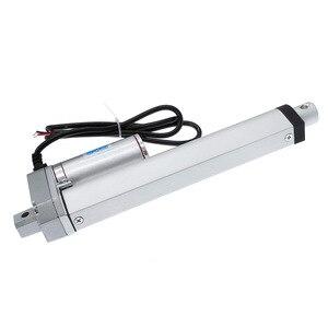 Image 4 - Actuador lineal eléctrico, 200mm, 150mm, 12V/24V, controlador lineal de Motor de carrera de CC, 100/200/300/500/750/800/900/1100/1500N
