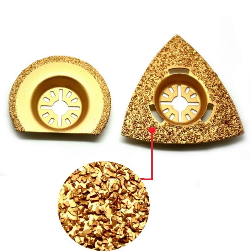 40% di sconto 1pc diamante titanio lama per sega oscillante multi strumento per Fein Multimaster elettroutensile decorazione della casa di alta qualità