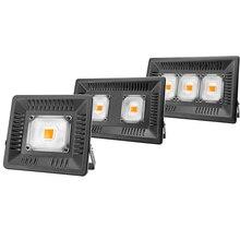 מלא ספקטרום מנורת LED גידול אור 50W 100W 150W AC 110V 220V מתח גבוה חיצוני עמיד למים עבור חממה הידרופוניקה זריעה