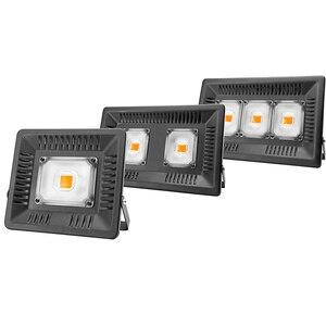 Image 1 - Volledige Spectrum Lamp Led Groeilicht 50W 100W 150W Ac 110V 220V High Power Outdoor waterdicht Voor Kas Hydrocultuur Zaaien