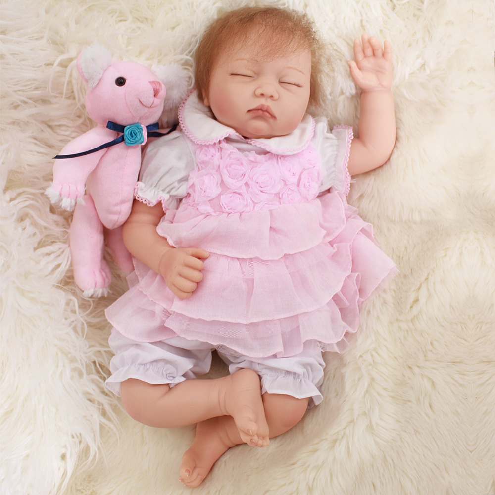 22handmade reborn babies silicone dolls 55cm collective doll real touch princess toddler alive kids birthday brinquedos doll22handmade reborn babies silicone dolls 55cm collective doll real touch princess toddler alive kids birthday brinquedos doll