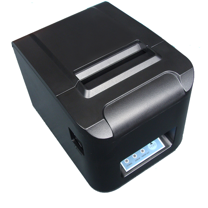 wholesale 3'' 80mm lan+usb port  anto cutter printer thermal printer POS receipt printer ZJ-8320