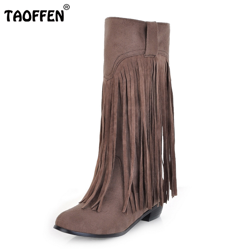 Popular Fringed Boots-Buy Cheap Fringed Boots lots from China ...