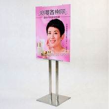 Single Side Display Adjustable Pedestal Floor Signage & Graphics Display Frames for Advertising ,Graphics,Signage and Poster(China)