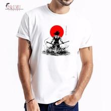 2QIMU Cartoon Printed Clothes Top Tees 2019 Mens Cotton O-Neck T-Shirts Summer Casual Short Sleeved