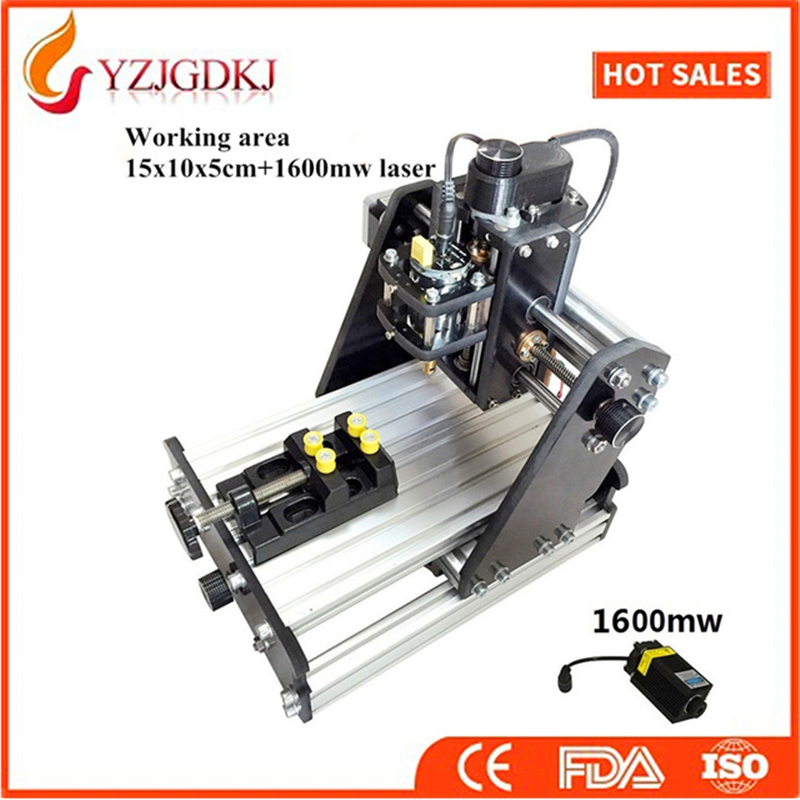 3-axis CNC engraving machine DIY mini desktop laser engraving machine marking machine mini cutting plotter Replaceable laser