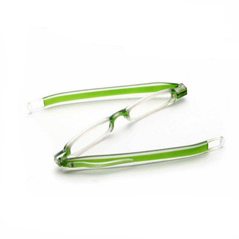 360 Degree Rotating Reading Glasses Unisex Folding Optical Glasses TR90 Frame Older Use Easy To Carry Glasses jr02
