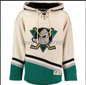 Hockey Hoodies Jersey Pullover Customize Any Name   Number Anaheim Mighty  Ducks Charlie 780b7d5c376