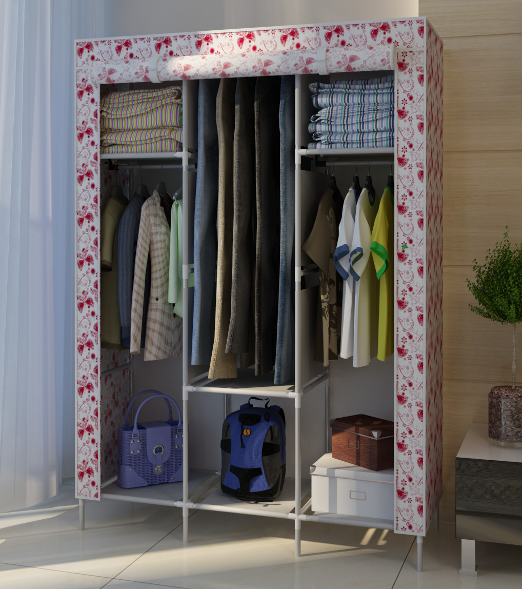 Simple Simple Wardrobe Cabinet Hanging Clothes Storage Cabinets - Hanging clothes storage cabinet