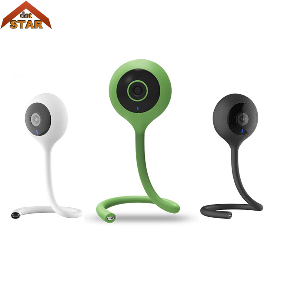 720P Wireless IP Camera Mini Video Baby Monitor Network Home Security Camera Music Alarm Night Vision 64G SD card CCTV Camera стоимость