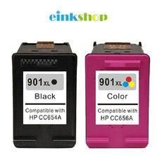 For HP 901 901XL Ink Cartridge Officejet 4500 J4525 J4535 J4540 J4550 J4580 J4585 J4624 J4640 J4660 J4680
