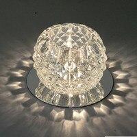 Nouveau Magnifique Durable LED Cristal Lampe Exposition Lustres Lumière Salle À Manger Blanc Chaud Drop Shipping