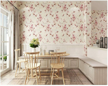 beibehang papel de parede American rural non-woven fabric floral European retro wallpaper hudas beauty bebang papier peint цена в Москве и Питере