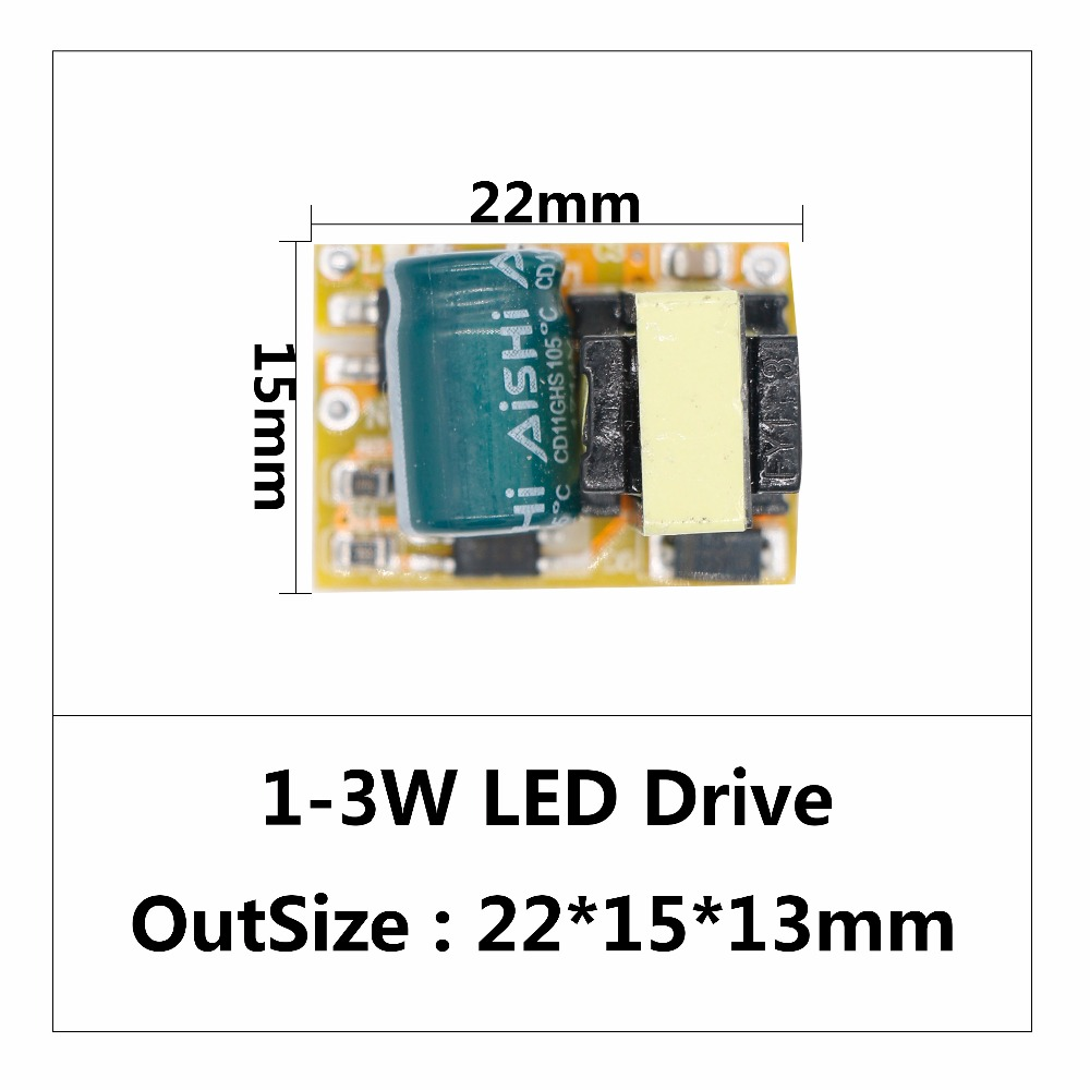 100pcs a lot LED Driver 1W 36W For LEDs AC220V DC12V DC24V Power Supply Constant Current