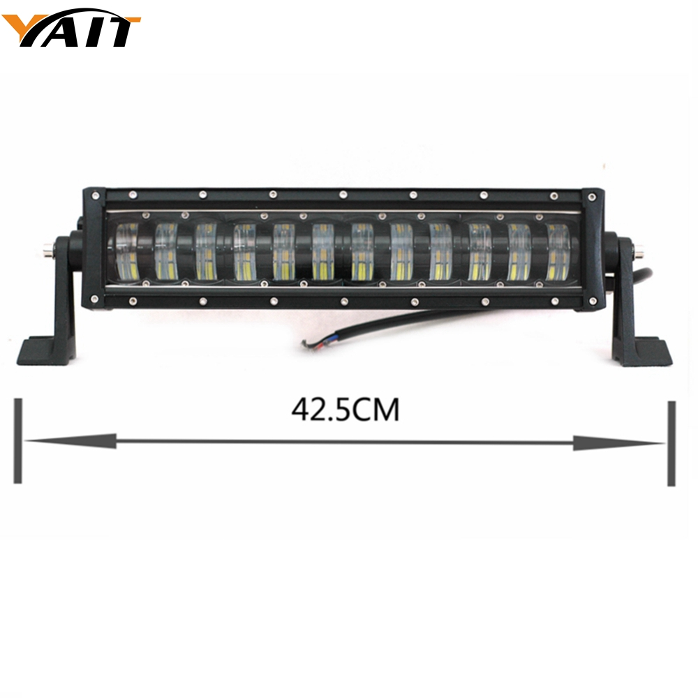 Yait High Low Beam LED Light Bar Combo Beam 6000K ATV SUV LED Bar 4X4 4WD Offroad Driving Work Light Truck Camper 12V Bar Led simba водный пистолет simba пожарный сэм 17см