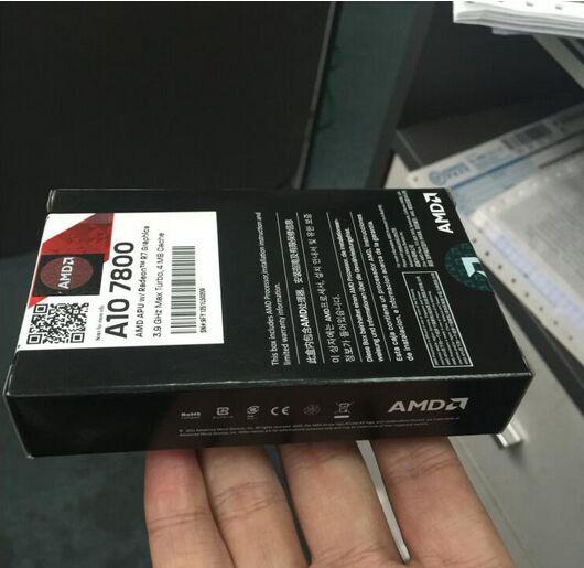 AMD Un-Série APU A10-7800 A10 7800 FM2 + APU Quad-Core CPU 100% fonctionne correctement De Bureau Processeur