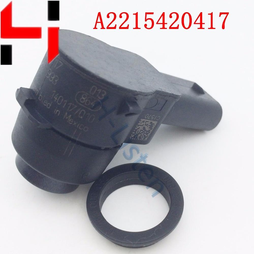 (4db) Parkolási távolságvezérlő segédérzékelők GL320 GL350-hez ML320 ML350 C320 SL500 E R S osztály A2215420417 2215420417